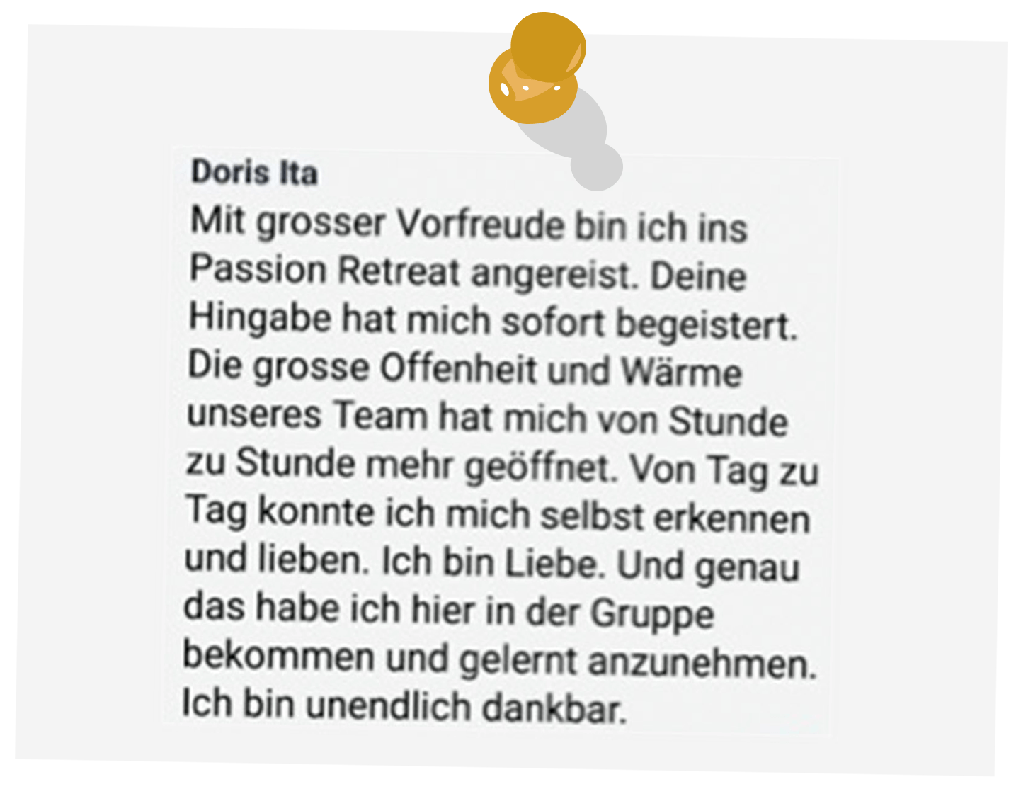 Passion Offenheit Wärme